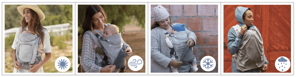 Infantino multi-purpose baby carrier, In Season.