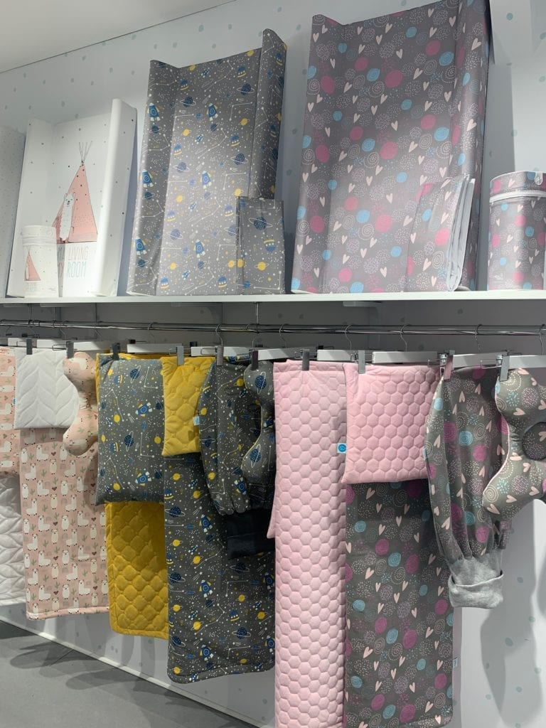 Colourful nursery accessories