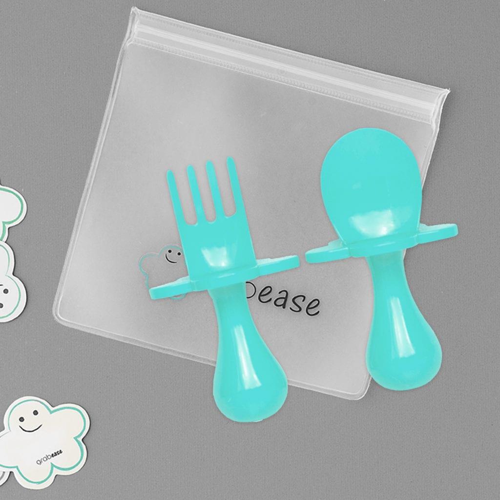 Grabease weaning cutlery
