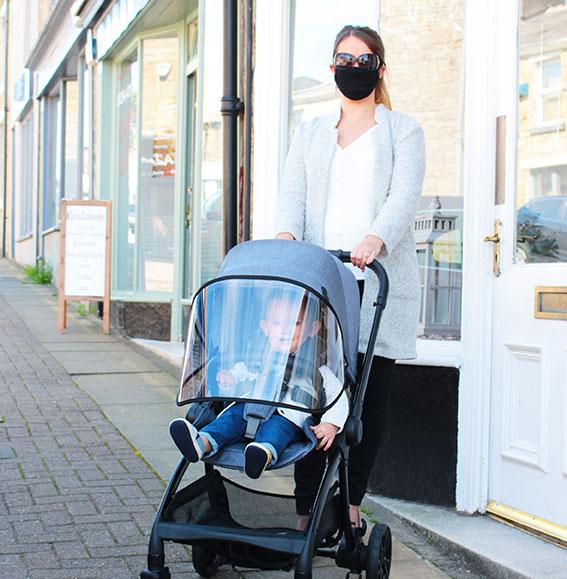 J-Protect stroller visor